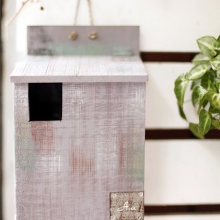 【Good day fetus】 Japan zakka imitation mailbox / old wood