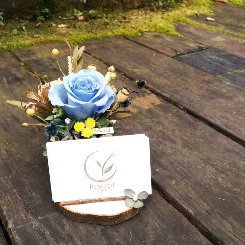 Opening ceremony, eternal flower, flower card holder