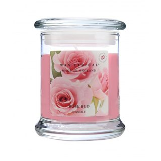British candles MIE series rosebud glass canned candles