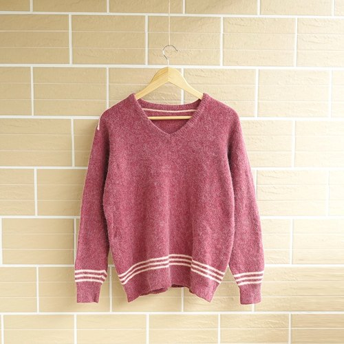 │Slowly│ rust red brick - vintage sweater │vintage. Vintage.