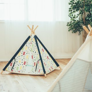 Handmade pet tent - washable