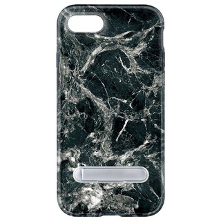 Black marble hidden magnet bracket iPhone 8 7 6 plus mobile phone case phone case