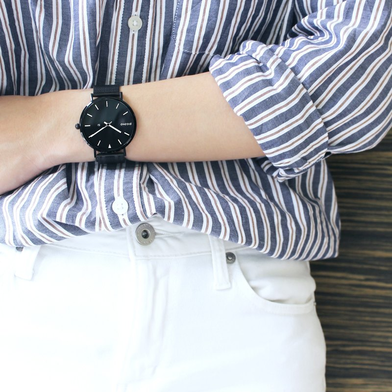 【PICONO】RGB collection quickly release stainless steel strap watch / RGB-6404