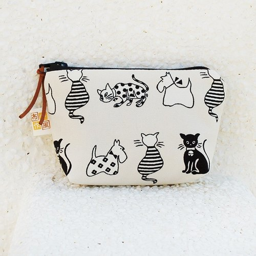 Cat and dog small storage bag / left 1