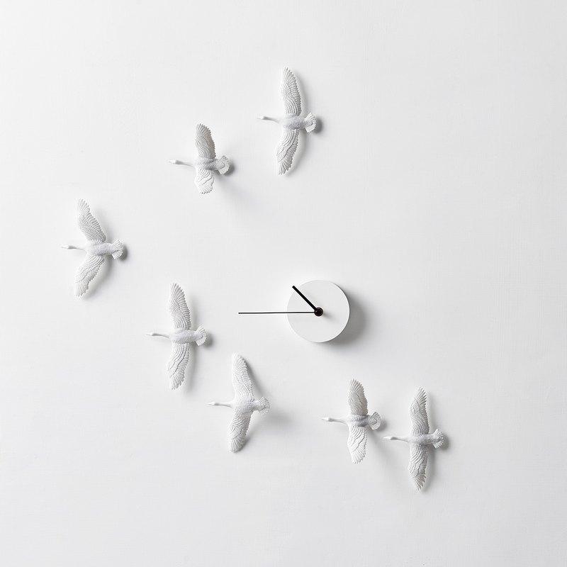 候鳥時鐘 -  V 型 / Migrant bird X Clock - V Formation
