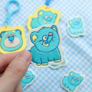 [snoring elephant class] a small amount of embroidery hot stamping cloth patch cloth embroidery cloth stickers armband embroidery