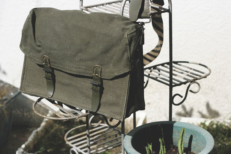 French army hair _ 匣 匣 shoulder bag _ big