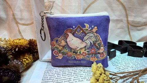 <Animals in the Secret Land> Rooster coin purses (small size)
