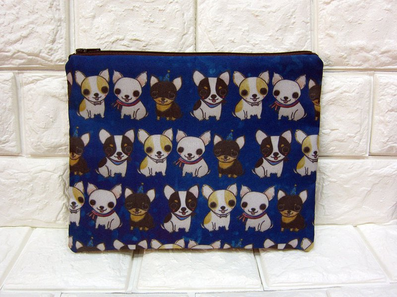 Cosmetic bag Pencil bag Chihuahua Chihuahua