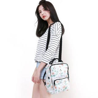 [Mid-Autumn Festival 3 Days Limited Time Discount] Le Tour Series - Broken Heart Bag - S - White Rose