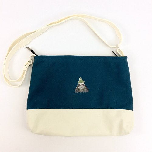 Moomin Moomin - Color Shoulder Bag (Blue), CB15AE01