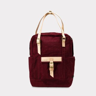 New Arrival【ZeZe Bag】DYDASH x 3way/hand bag/shoulder bag/backpack/diaper bag/contrast color(Bordeaux Bubble)