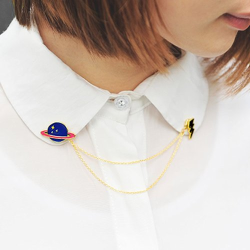 U-PICK original product life original Korean witty and lively and lovely alloy collar pin brooch pin