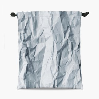 Drawstring Pouch - 束口袋 - Wrinkled paper