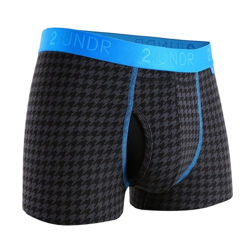 2UNDR SWING SHIFT modal pocket underwear [Dogtooth] (3 inches)