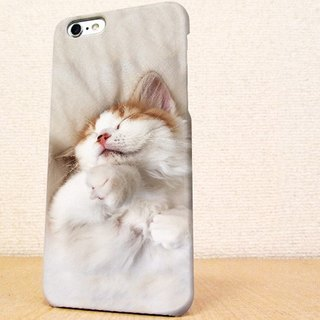 (Free shipping)iPhone case GALAXY case ☆ The cat which takes a nap