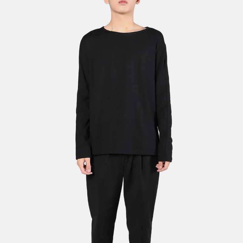 Micro wide long sleeve T