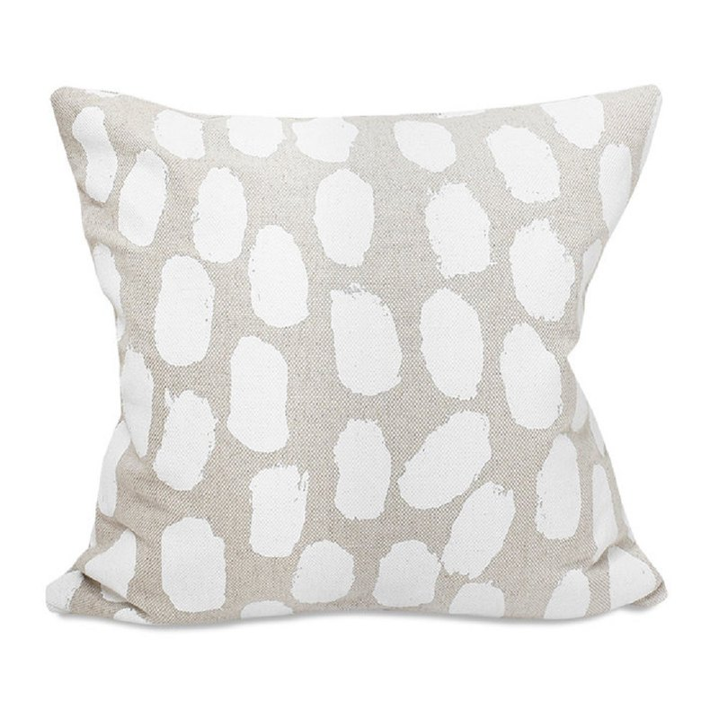 Nordic style designer – pillowcase DOTS CUSHION COVER, WHITE