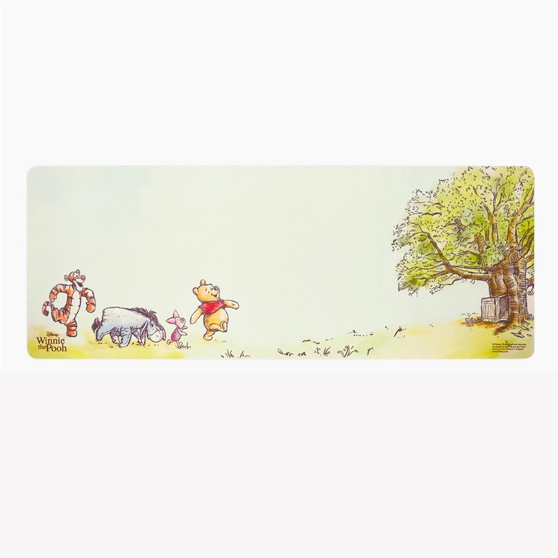 InfoThink Winnie the Pooh series leisurely mouse pad - forest fun
