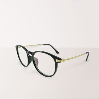 Aurora│Anti-blue light glasses with black rectangle frame