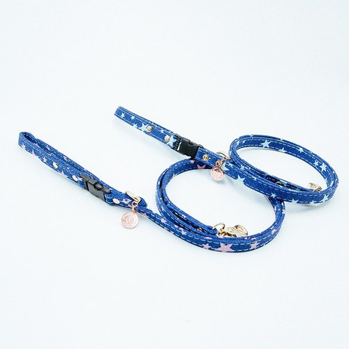【Momoji】 Pet Leash - Starry Night