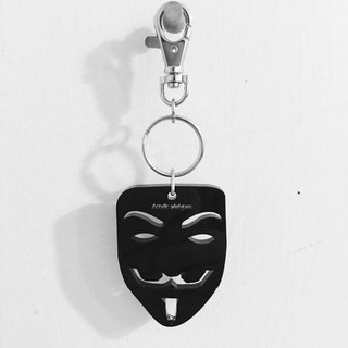 Lectra duck ▲ ▲ mask necklace / keychain / dual-use \ threw a postcard dogs and cats