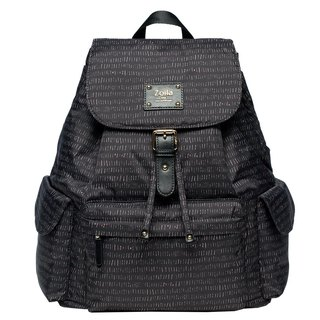 Line black style beam mouth backpack _ parenting bag _ mother bag
