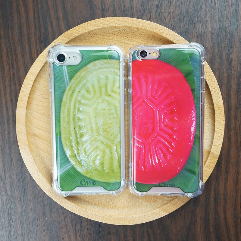 [Red turtle or grass aunt] anti-gravity anti-fall mobile phone shell
