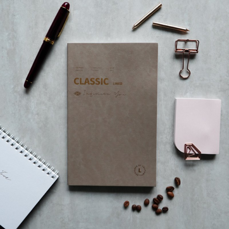 YouthWill Classic Lined Notebook