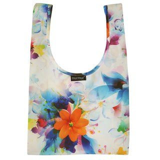 Murmur lunch bag / watercolor flower BDB11