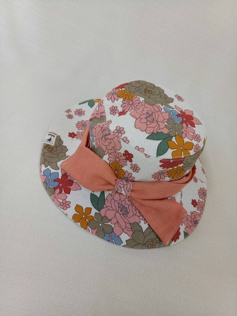 """Va wide hat series"" spring bow wide hat"