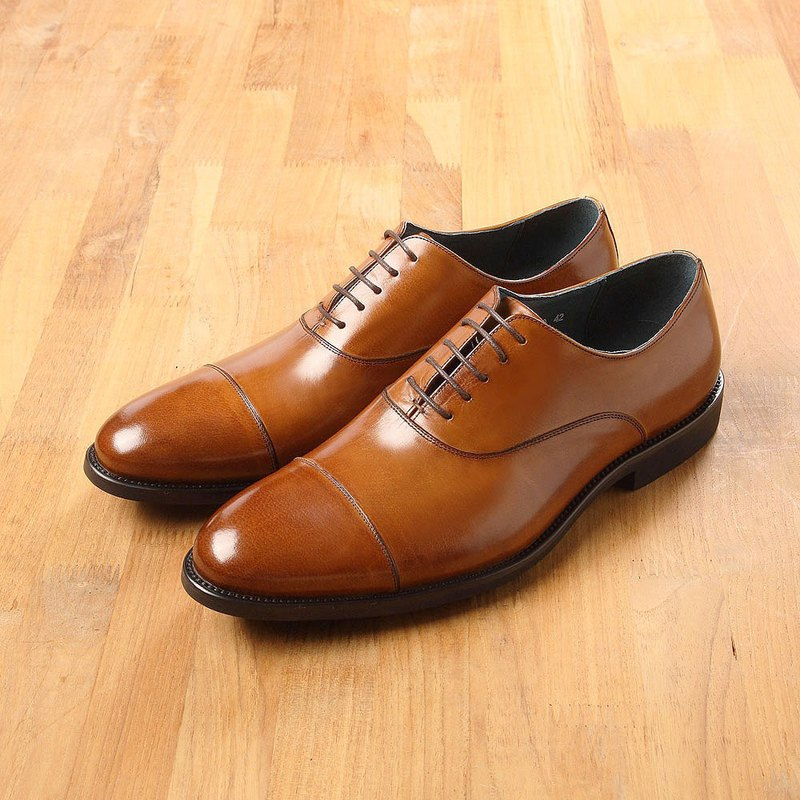 Vanger Style Style Oxford Oxford Shoes Va220 Brown
