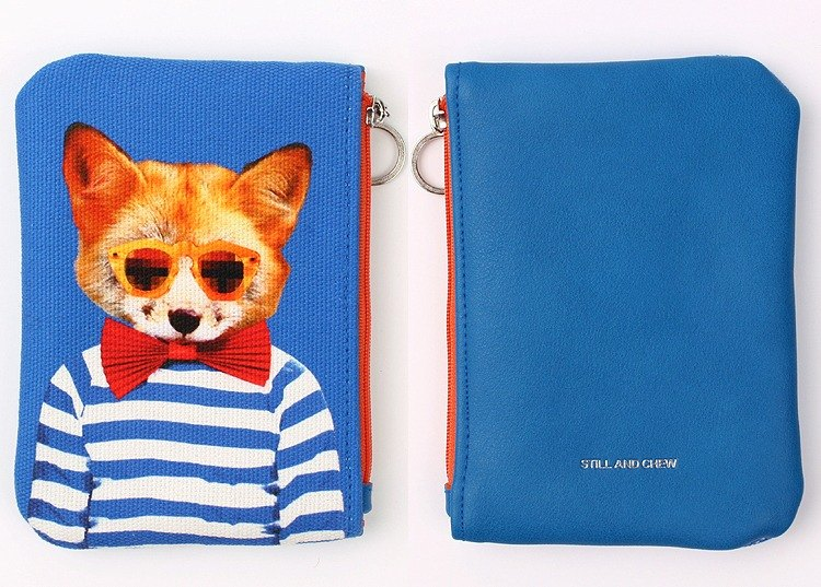 STILL AND CHEW Mixmatch Pouch (中) - GENTLE FOX