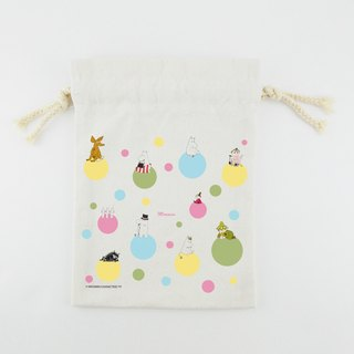 Moomin Moomin authorization - Pouch (Large): [] Rainbow Bubble