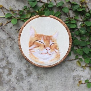 Wool felt embroidery - custom simulation animal cat articles