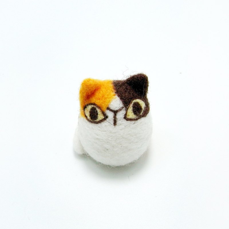 <Wool felt> Lovely Cat(M Size) - by WhizzzPace