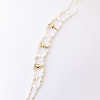Couture-High Classic White Pearl Chocker