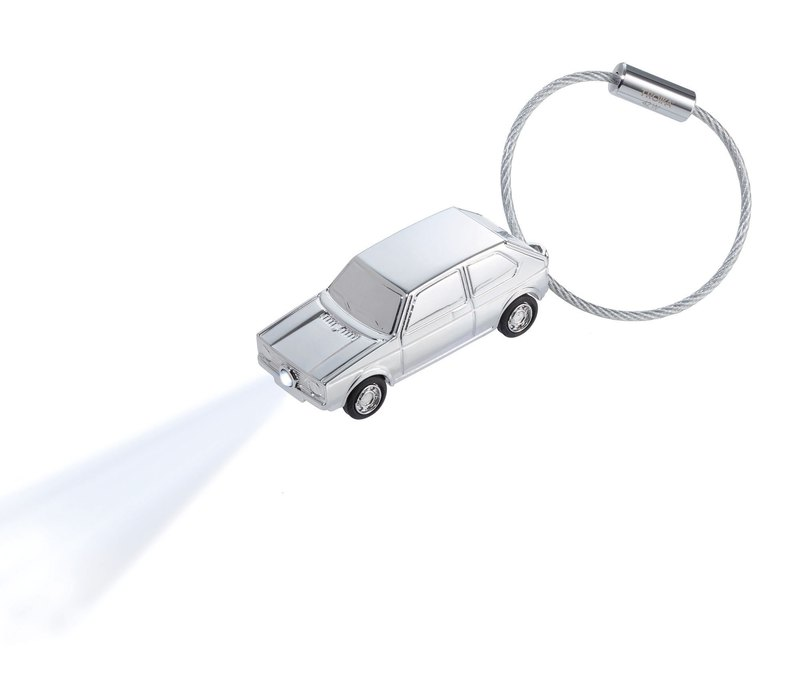 Keyring with white LED light GOLF GTI 1976