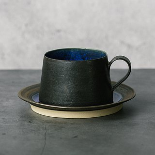 【NightSky】 Coffee Cup & Saucer (short)