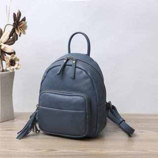 calf leather backbag / Graduation gift Preferred