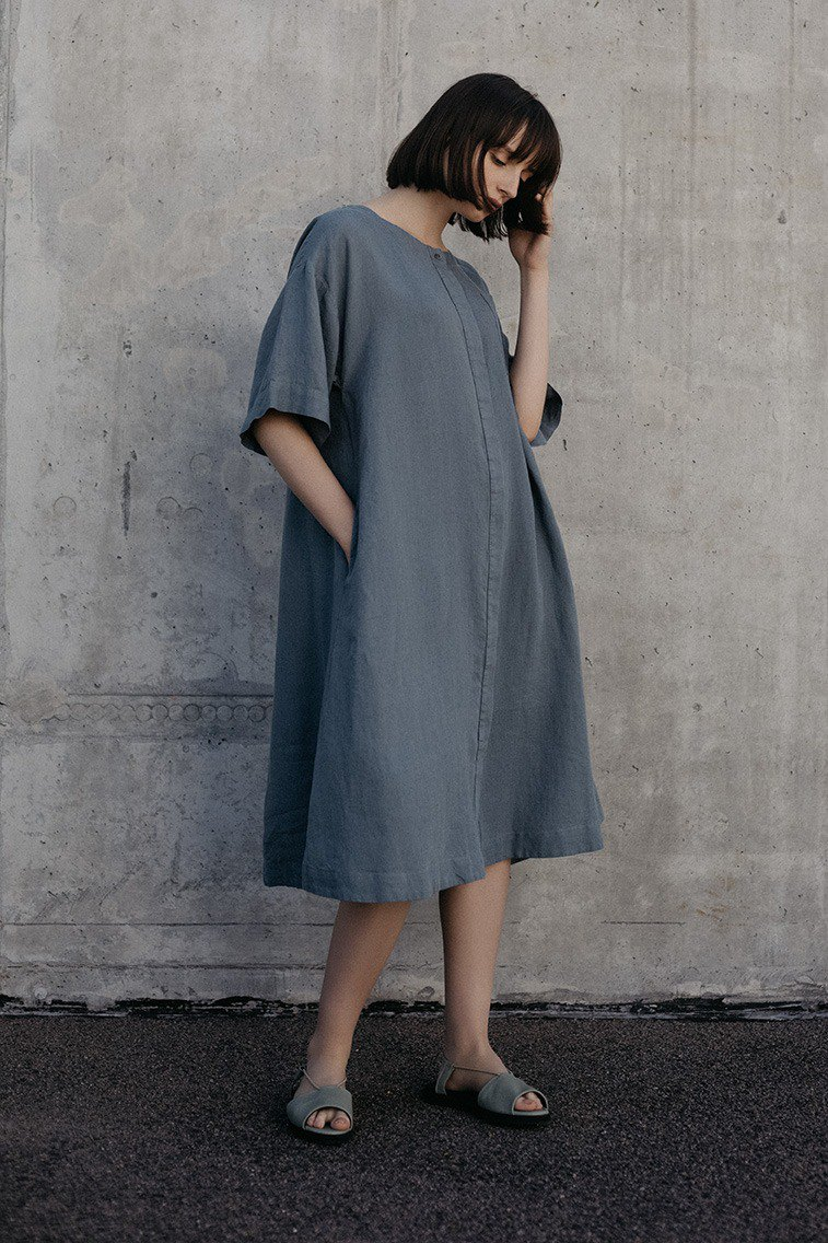 Linen Dress Motumo – 18S12