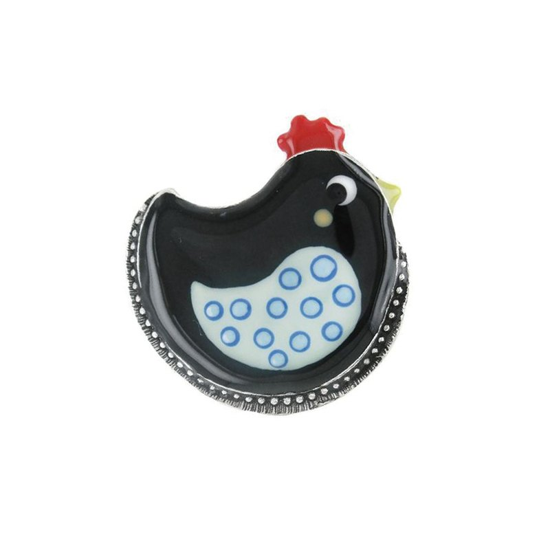 【Taratata chicken series】 Cute chicken ring