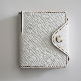 Culioro LEATHER MEMO COVER and PEN M White