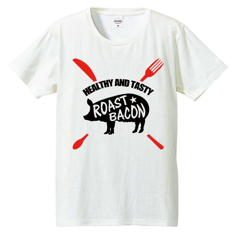 [T-shirt] Roast Bacons knife & fork