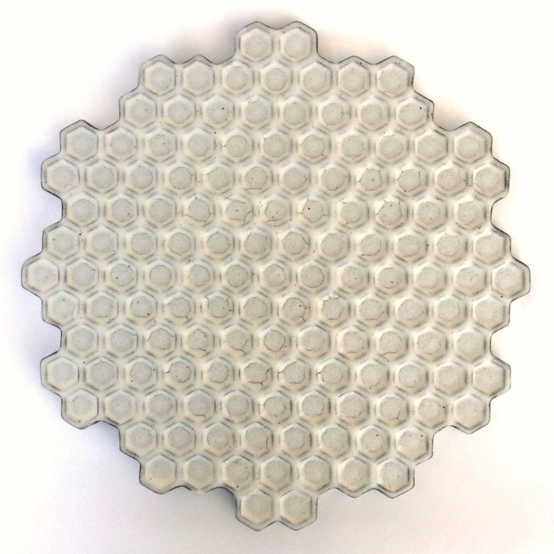 Honeycomb black plate(large)