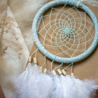Dream Catcher - Water jade light blue (tannin style series) - birthday gift, exchange of gifts