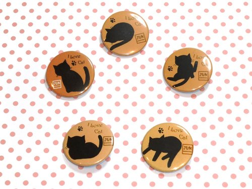 [Badge] Cat Silhouette Badge group