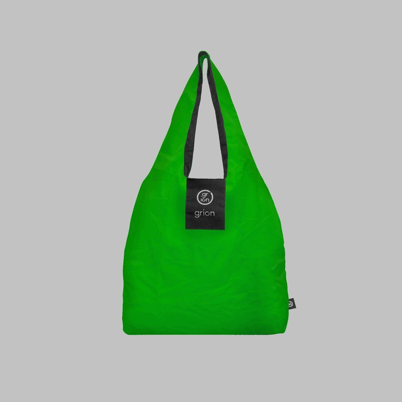 grion waterproof bag - Shoulder dorsal subsection (S) Matcha Green