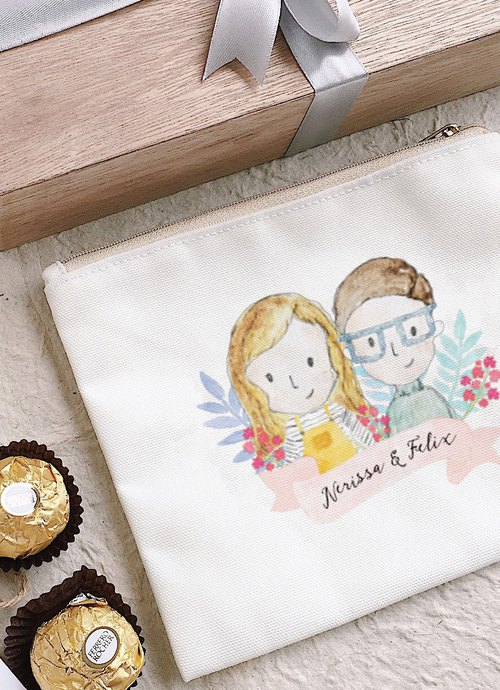 8pcs Personalised Pouch