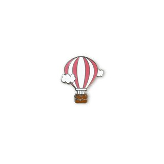 Doughnut Brand Original Badge - Red Hot Air Balloon